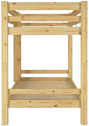 Letto a castello legno con cassettone contenitore biancheria giochi