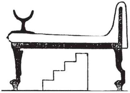 Letto a castello egiziano